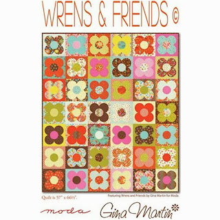 Moda WRENS & FRIENDS Free Quilt Pattern by Gina Martin