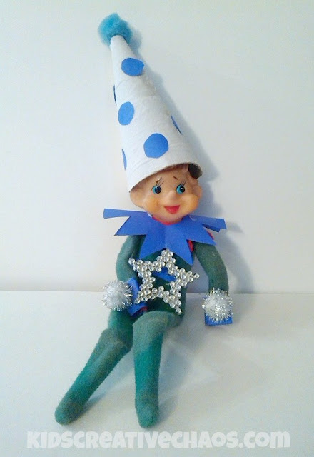 Make your own Elf on the Shelf Costume
