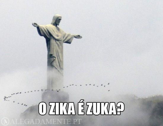 Imagens do Corcovado e do Cristo Rei no Rio de Janeiro – O Zika é Zuka?