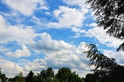 Wolken ziehen übers Land...
