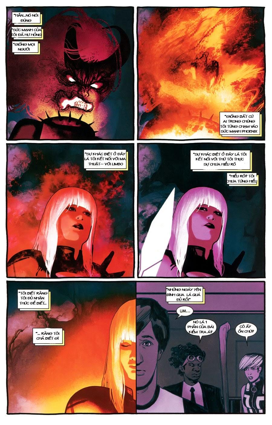 Uncanny X-Men chap 5 - Trang 13