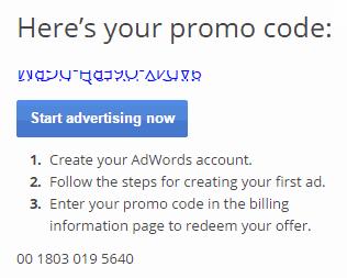Cara Mendapatkan Kupon Google AdWords Gratis