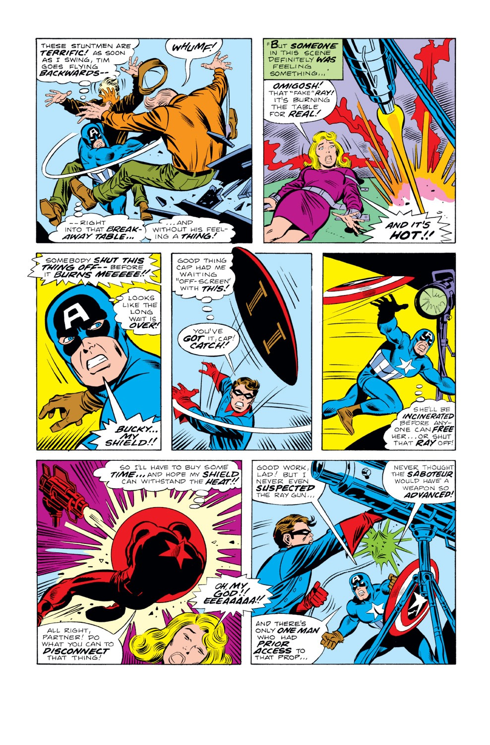 Captain America (1968) Issue #219 #133 - English 13