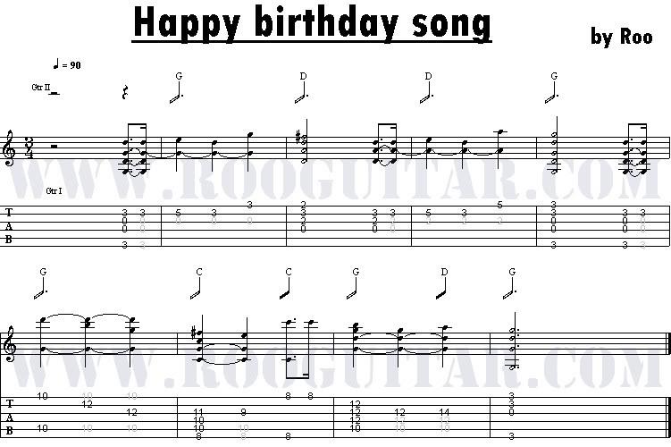 Far-East LifeStyle ^_^: Happy Birthday Tabs