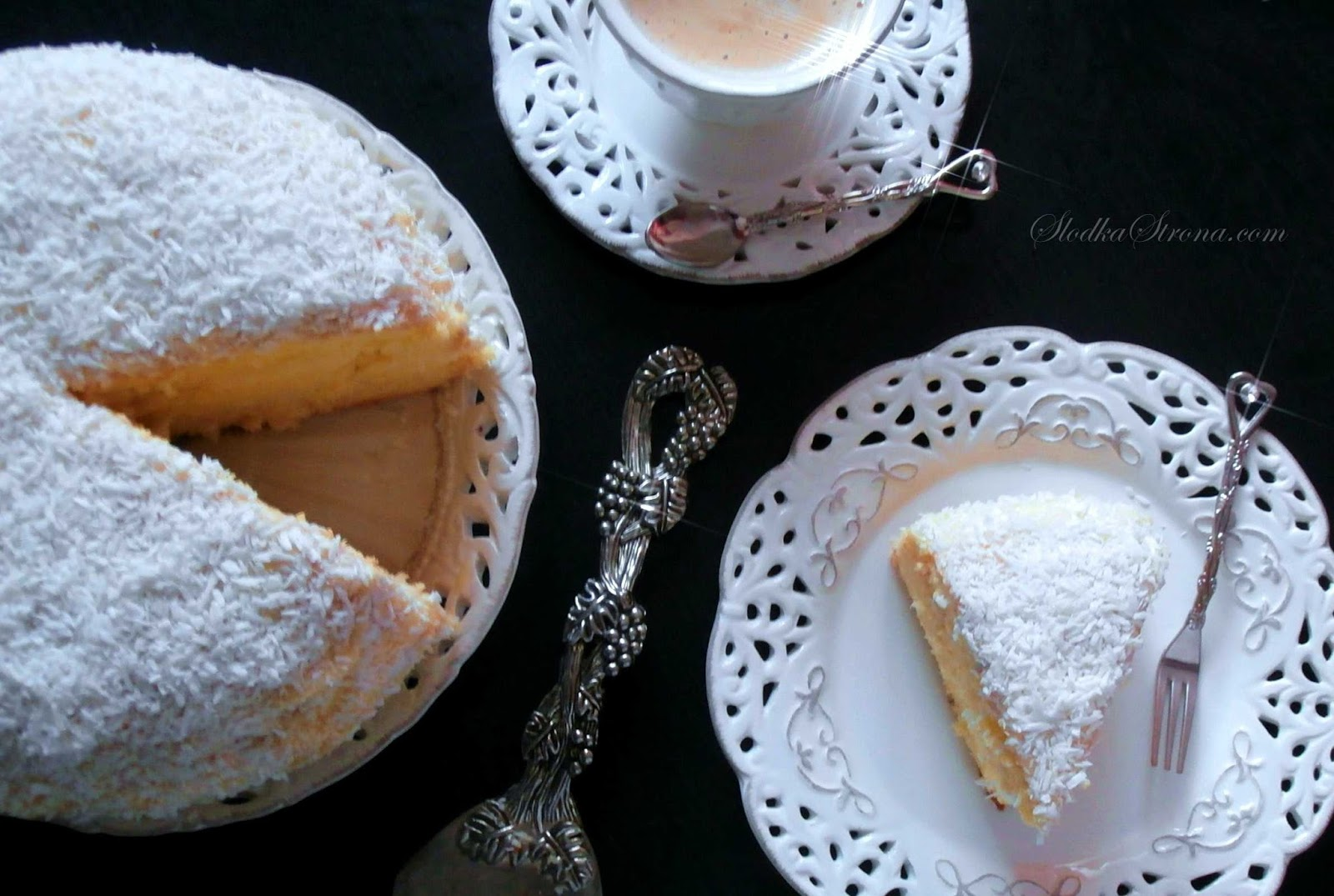 """Tort """"Raffaello"""" - Najlepszy - Przepisy - Słodka Strona"""