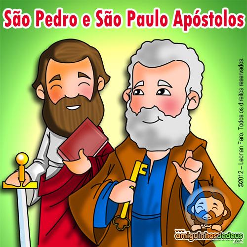 São Pedro e São Paulo desenho