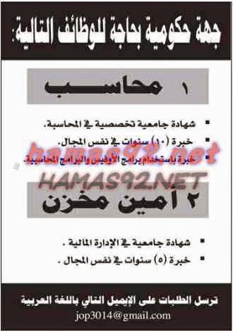 وظائف خالية من جريدة الشرق قطر الاحد 21-12-2014
