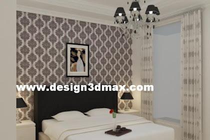 Renovasi Design Kamar Classic finishing lemari white duco bentuk plafond existing