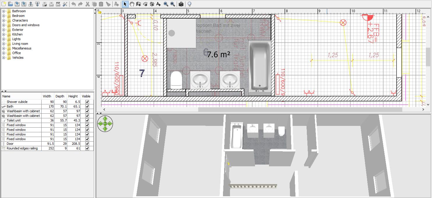 Reihenhaus von werner wohnbau in offenburg november 2015 for Einrichtungsplanung software kostenlos
