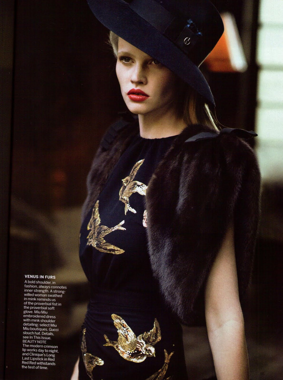 fashiontent 1940s styling featured in us amp uk vogue a