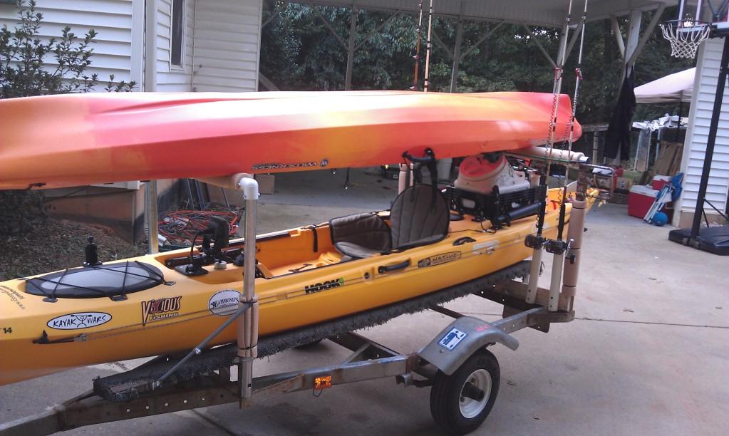 Evolution Of A Kayak Trailer