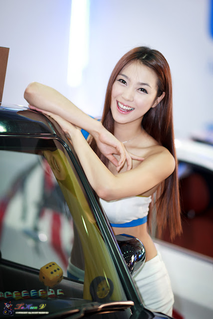 5 Ju Da Ha - Seoul Auto Salon 2012-Very cute asian girl - girlcute4u.blogspot.com