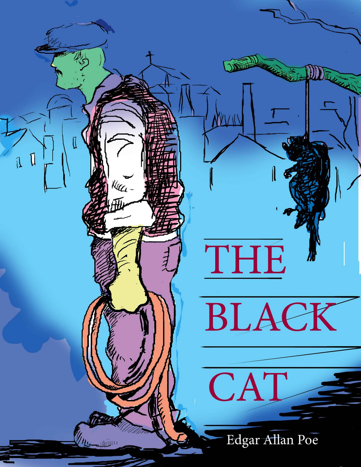 an analysis of the narrators insanity in the black cat by edgar allan poe A critical analysis between two characters from two separate stories by edgar allan poe sources cited: poe, edgar allan the black cat united states.