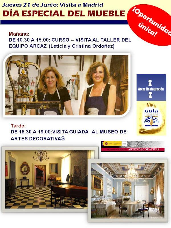 Visita curso al taller de las hermanas ordo ez y al - Restauracion muebles valencia ...