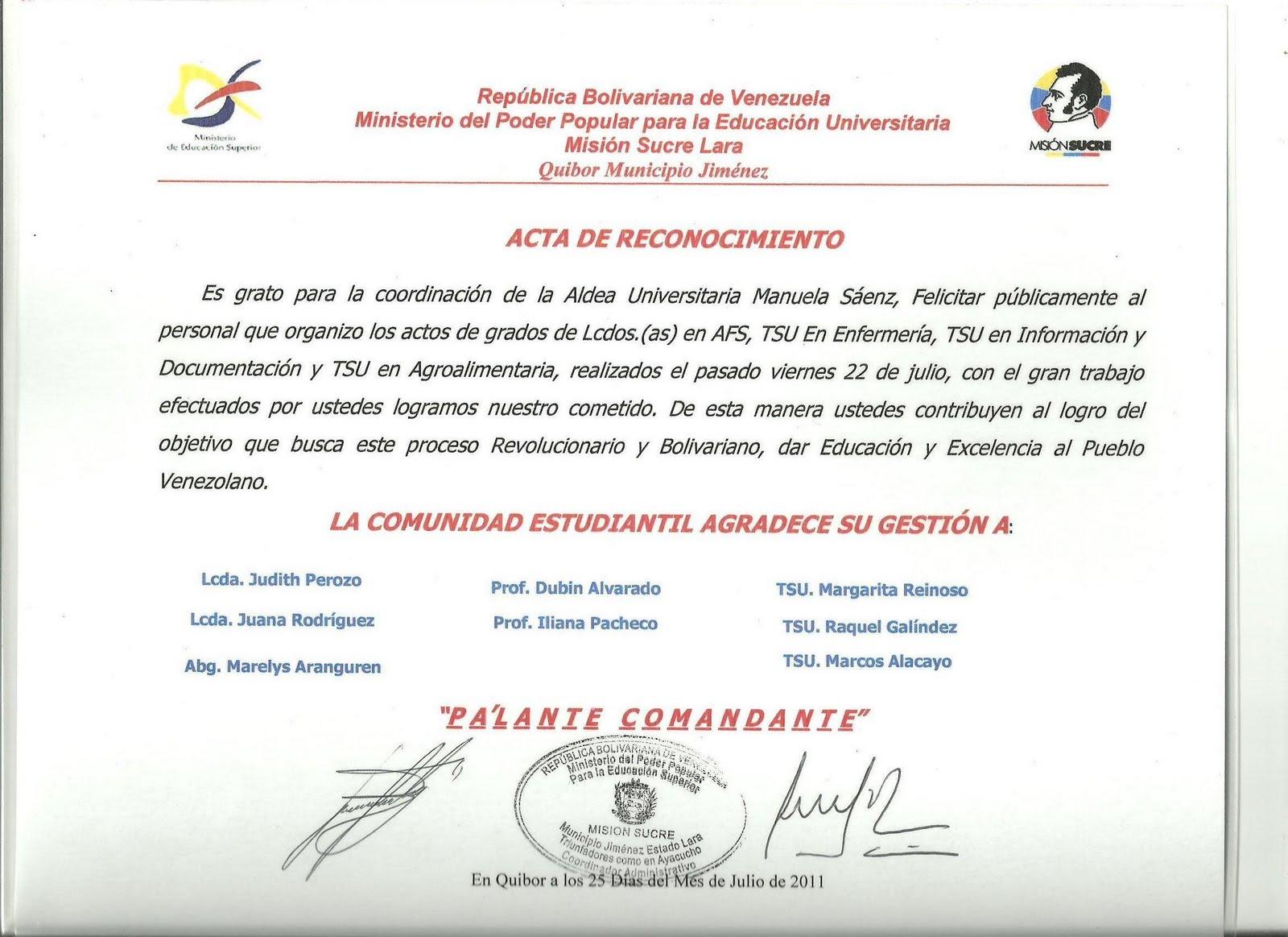 Certificado De Reconocimiento Cristiano