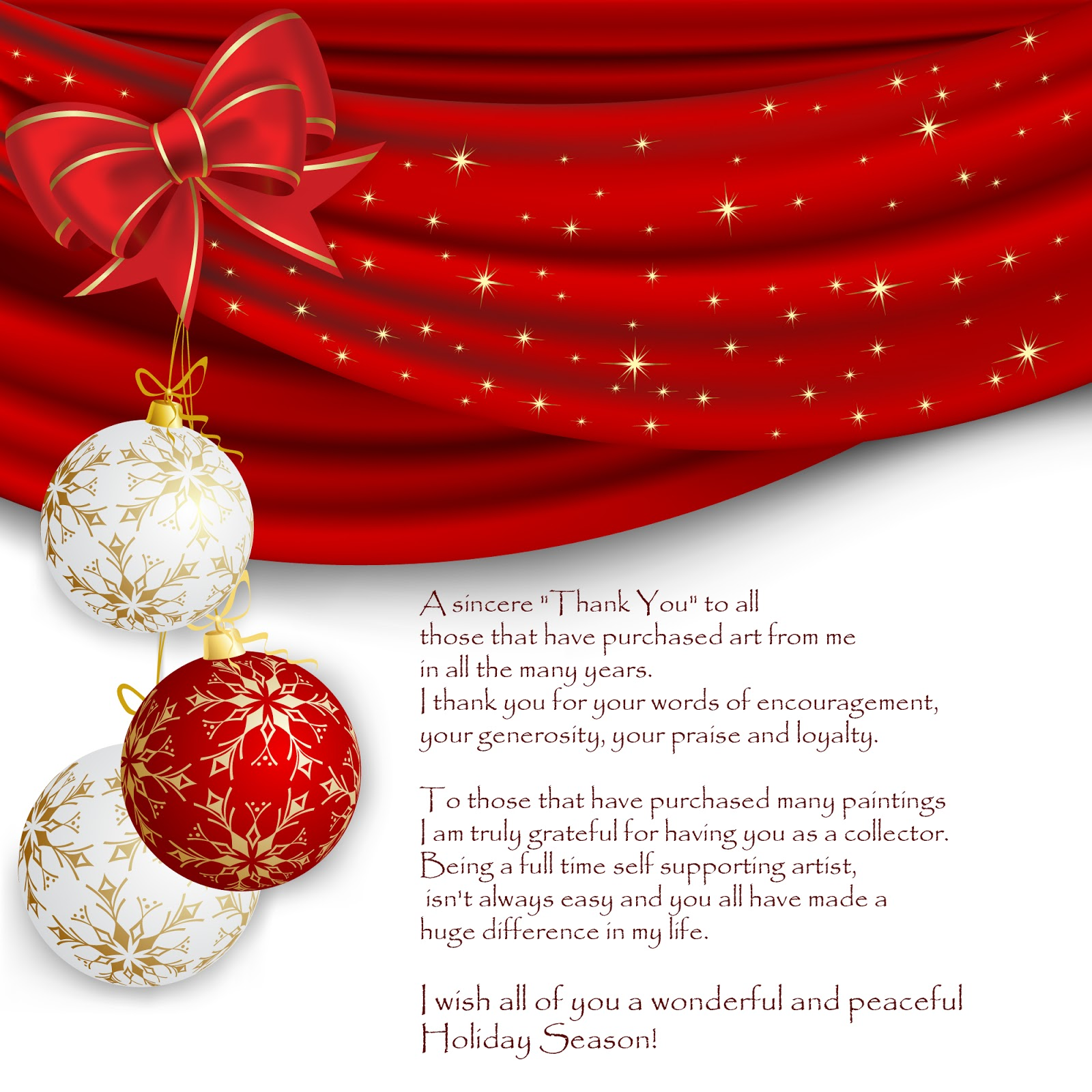 Ginette Callaway Holidays Wishes 2014