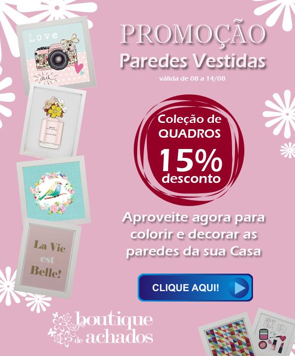 Promoção de Quadros Boutique de Achados
