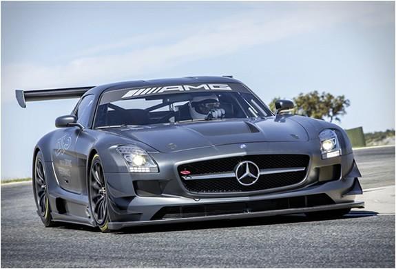 carro de luxo,supercarro,Mercedes SLS AMG GT3 Edição 45º aniversário