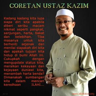 Ustaz Kazim Difitnah Blogger PAS?!
