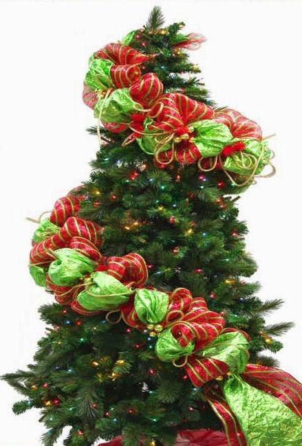 Como decorar un arbol de navidad con malla imagui - Como decorar un arbol de navidad ...