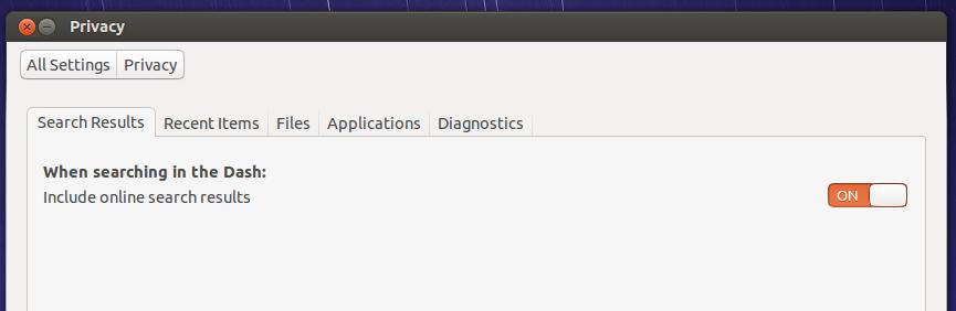 ubuntu 15.04 privacy