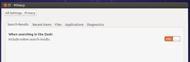 ubuntu1304 privacy
