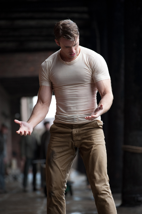 Fighter Chris Evans