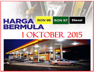 Harga Minyak Petrol Dan Diesel Terkini