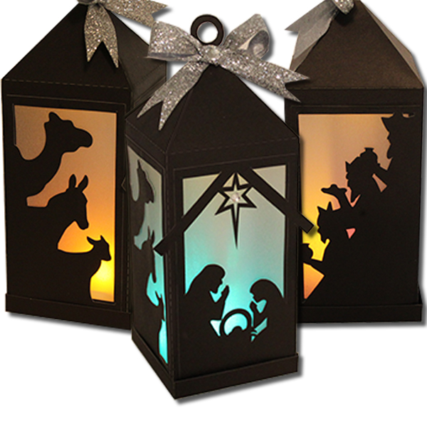 You may also want to check out: Santa Kissing Momma Lantern http ...