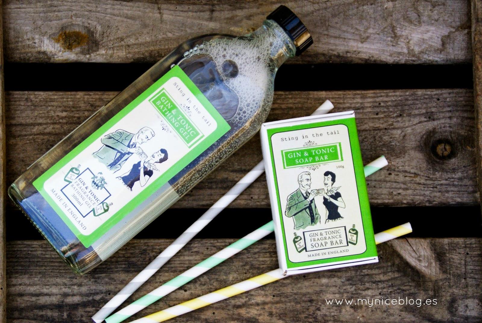 Jabón de gin tonic