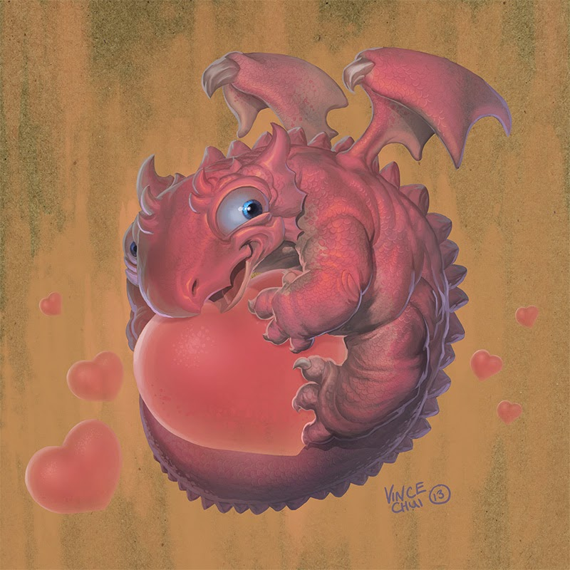 illustration de Vince Chui représentant une version du logo de firefox
