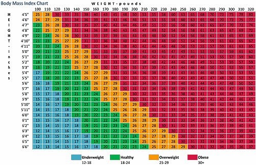 Body Weight Chart Blog Are Body Weight Charts Accurate