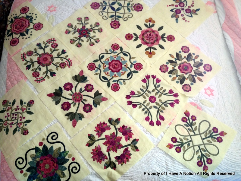 I Have A Notion: Rose of Sharon Quilt & More PA