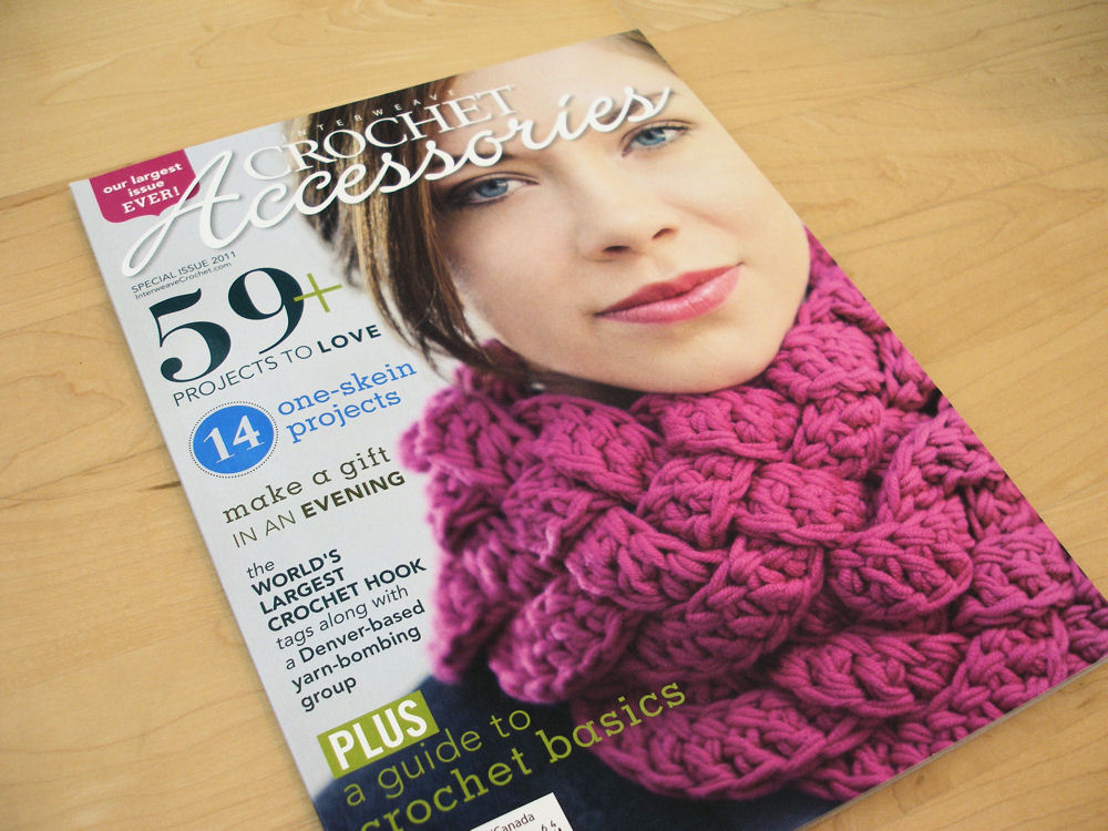 ... crochet magazine reviews is the Interweave Crochet Accessories 2011