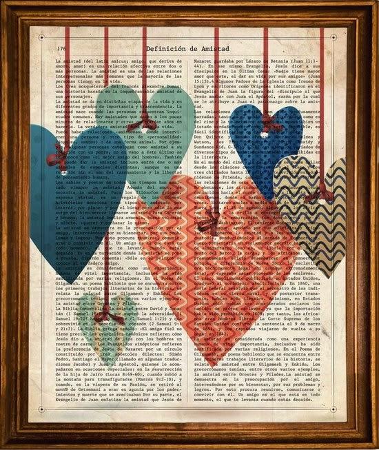 Lámina nacnic corazones