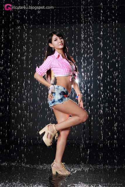 2 Lovely Cha Sun Hwa - very cute asian girl - girlcute4u.blogspot.com