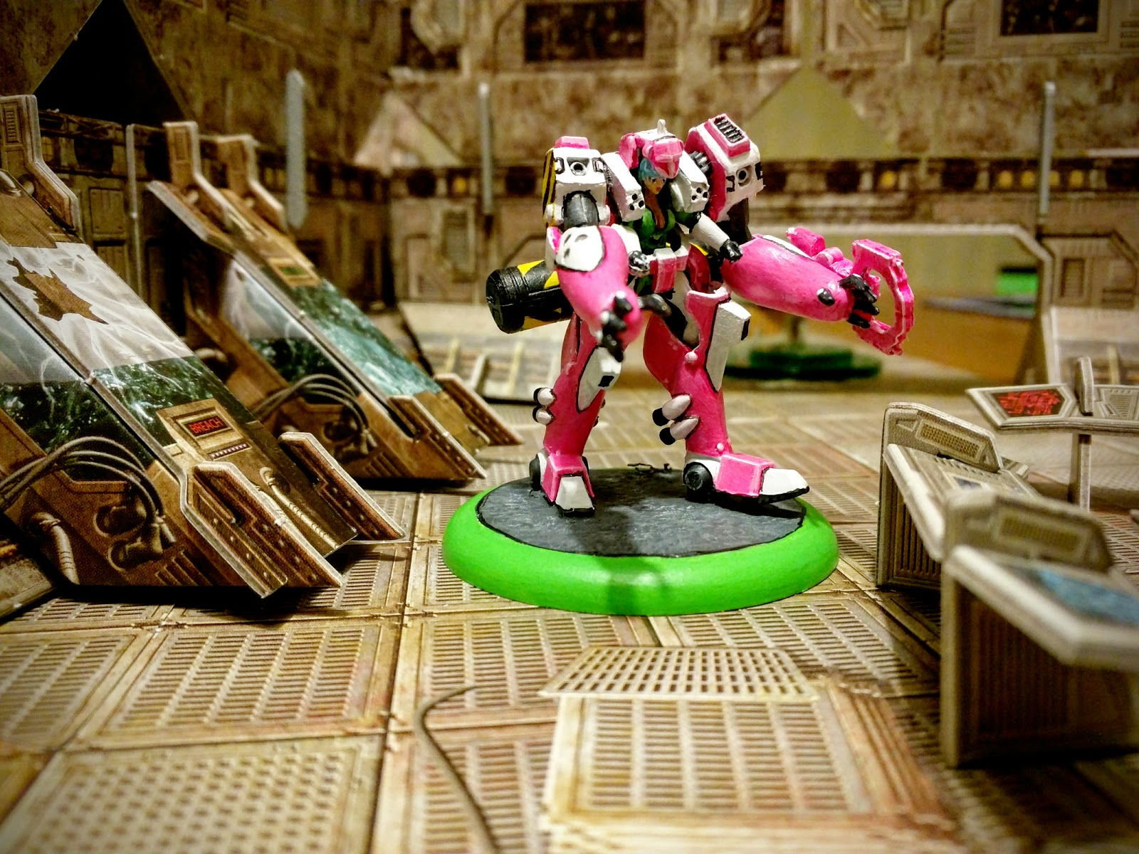 The Half Arsed Gamer July 2015 Ninja Division Painting Cerci Speed Circuit Royal Wrecker Its Pink