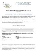 Bulletin d'adhesion à Demain Bretignolles