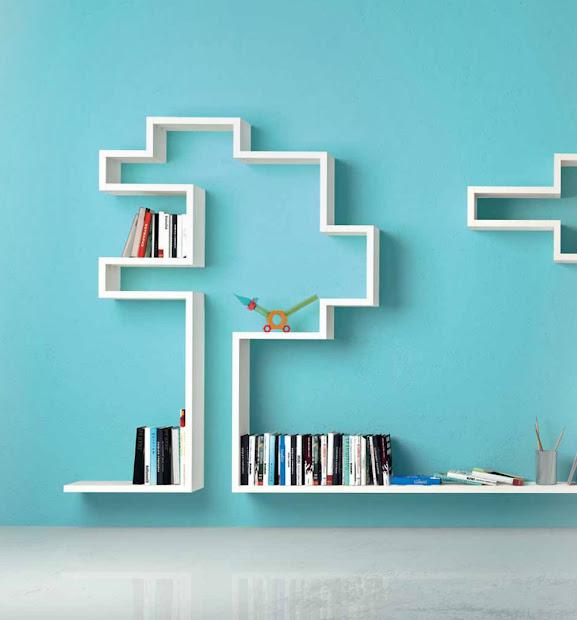 Creative Wall Shelves Design Ideas