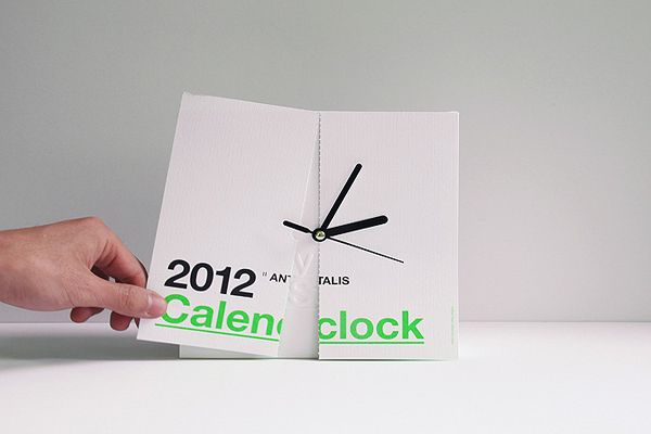 Creative Calenclock by Ken Lo