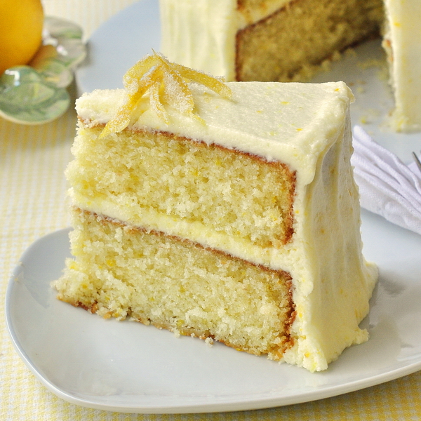 Recipes we love: Lemon Velvet Cake