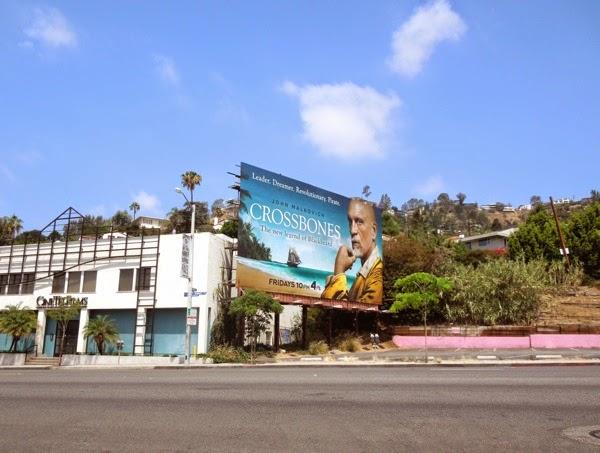 Crossbones series launch billboard