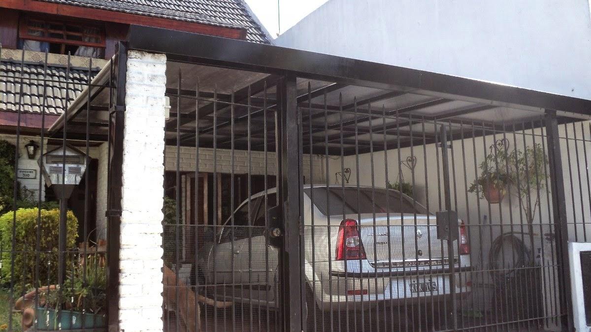 Rejas portones en zona oeste automatizacion techo garage for Modelos techos para garage