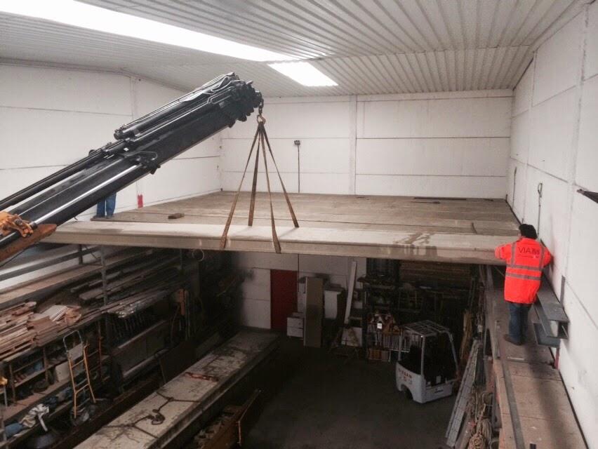 Fabrica de placas alveolares montamos naves for Prefabricados de hormigon precios
