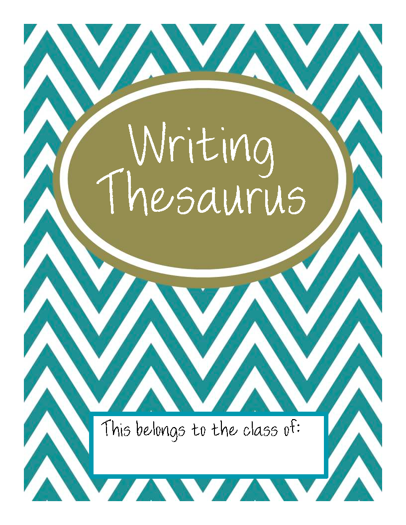 Writing Thesaurus