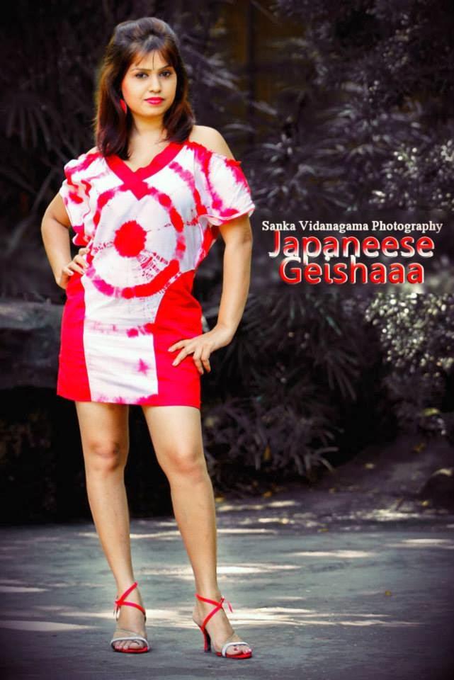 Tharu Arabewaththa japaneese geishaaa