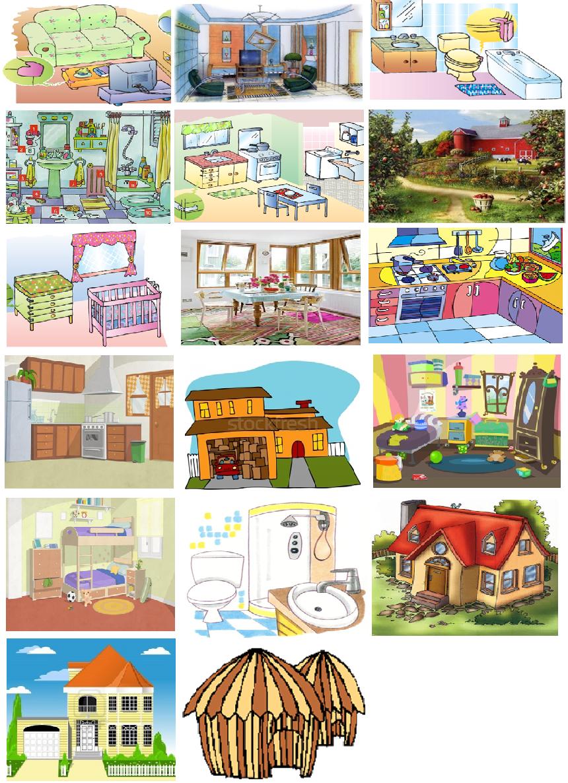Espa ol para ni os plan 02 tema c modos de la casa - Tipos de tejados para casas ...