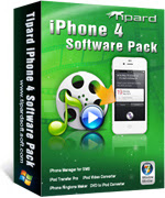 Tipard iPhone 4 Software Pack Portable