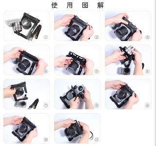 Sarung Anti Air Untuk Kamera Sony Nex