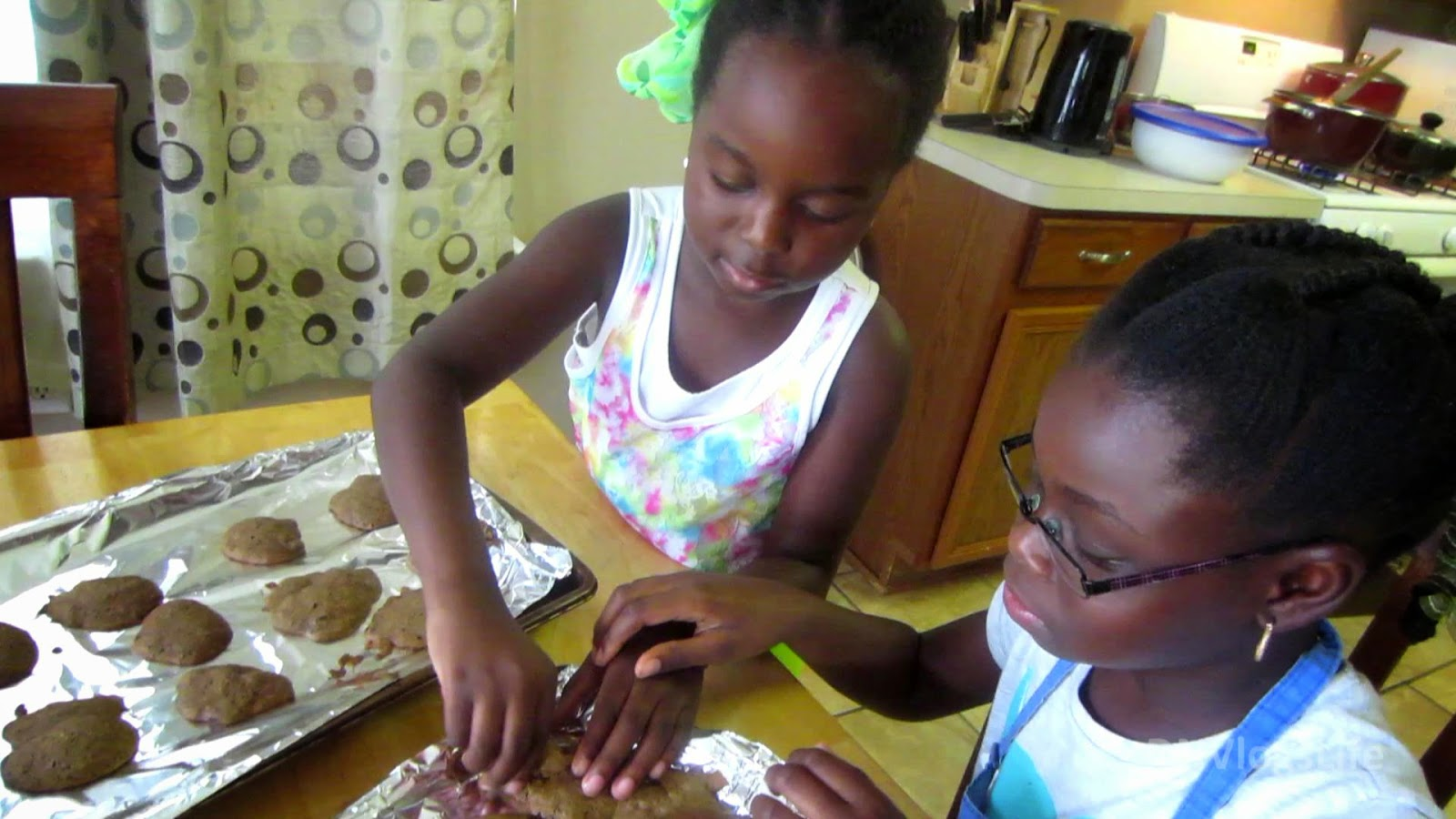 Kids Baking Cookies DNVlogsLife